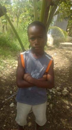 Chidson Laguerre is 10 and is in grade three. He lives with his mom and we would love to see him in school.