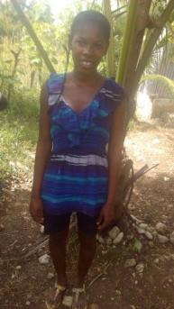 Jean Minerve is 18 years old and is in grade 8. She is an orphan and we want to help her fulfil her dreams.