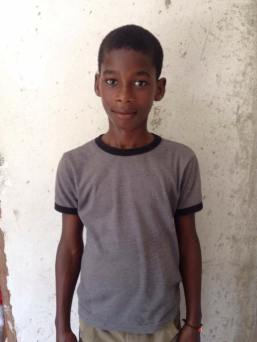 Leandre Fridlor could use our help. His parents can't afford to send him to school. He is 12 and grade 7.