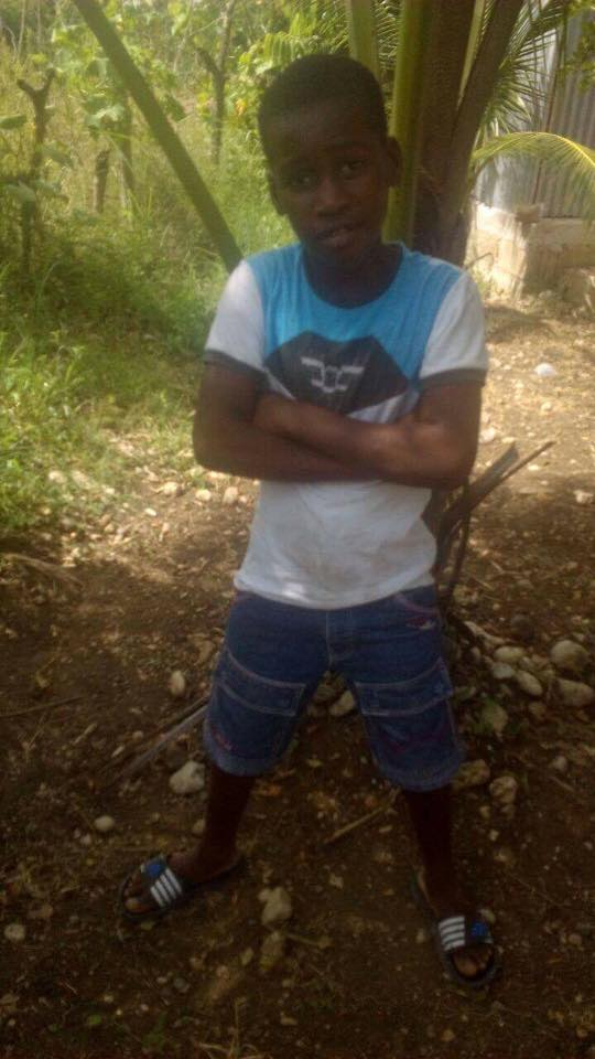 Louis Bacial is 11 and in grade 4. He lives with his mother and would enjoy going to school.