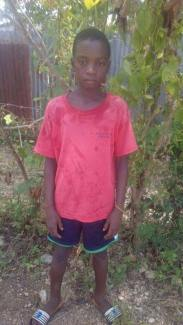 Lovisma Westin is 14 and in grade three. He is being raised by his mom.